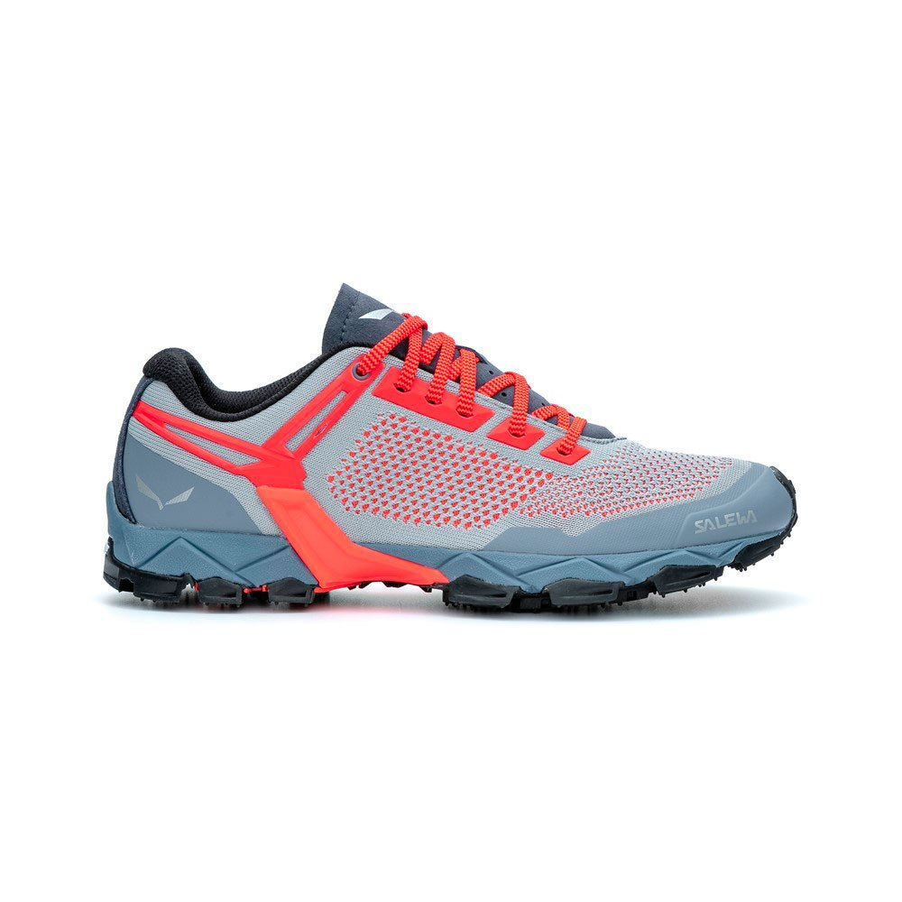 Salewa Lite Train K EU 40 1/2 Blue Fog / Fluo Coral