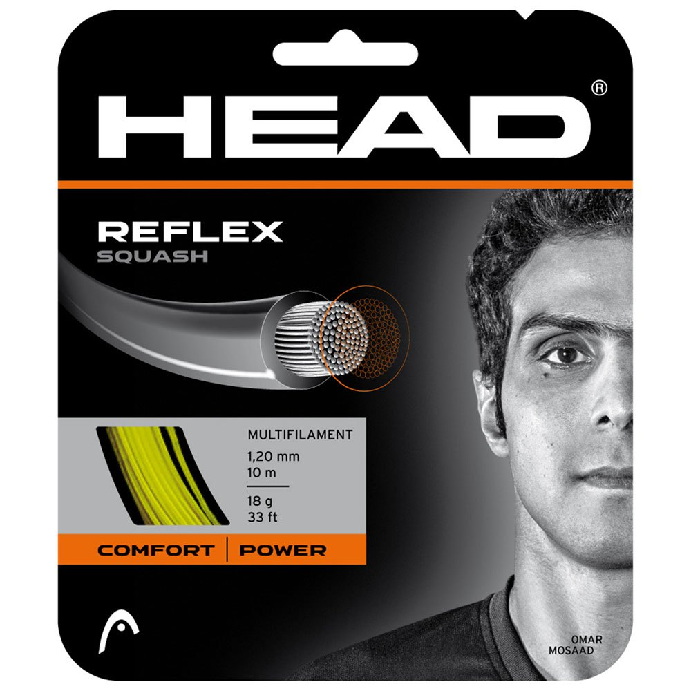 Head Racket Reflex 10 M 1.20 mm Yellow
