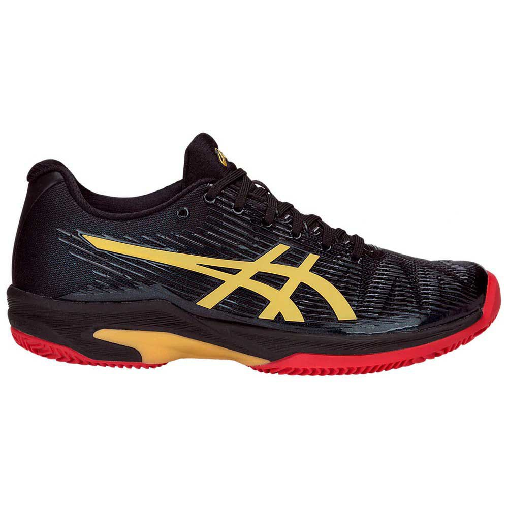 Asics Solution Speed Ff Le Clay EU 37 Black / Rich Gold