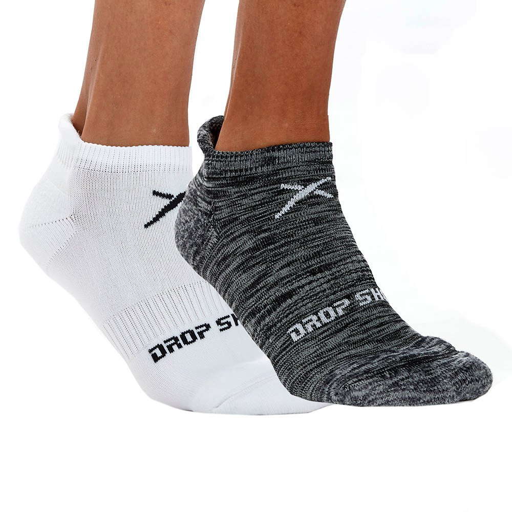 Drop Shot Performance 2 Pair EU 39-42 White / Black