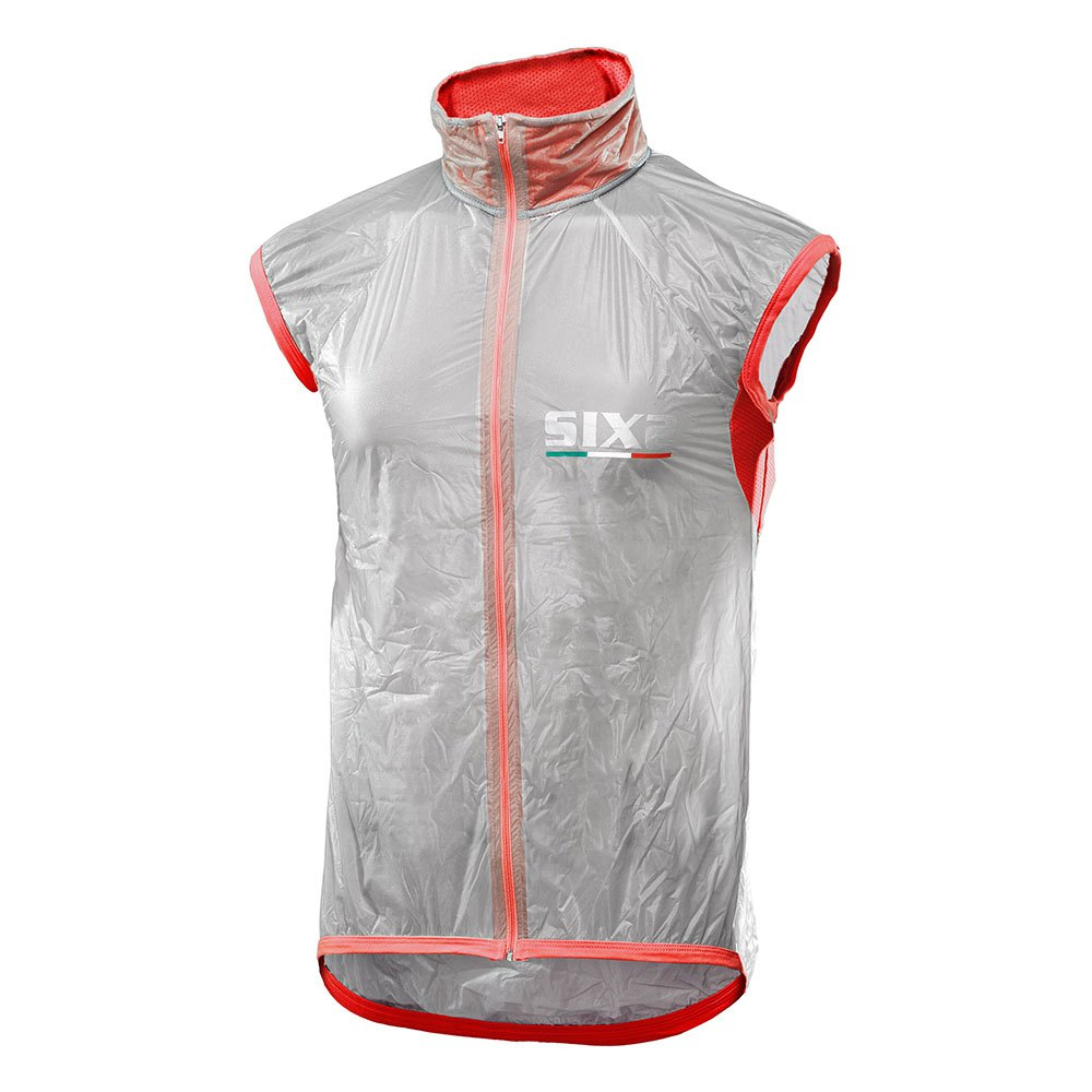 Sixs Windproof XXL Transparent / Red