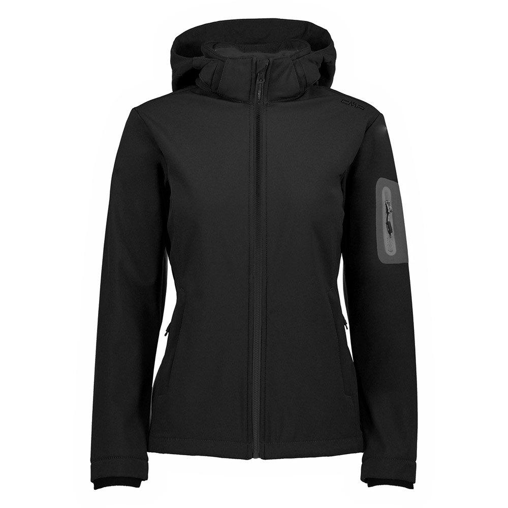 Cmp Zip Hood Jacket XXL Black