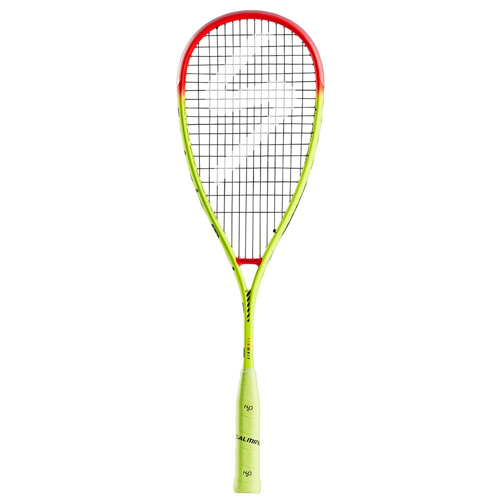 Salming Grit Powerlite One Size Fluo Yellow / Flame Red