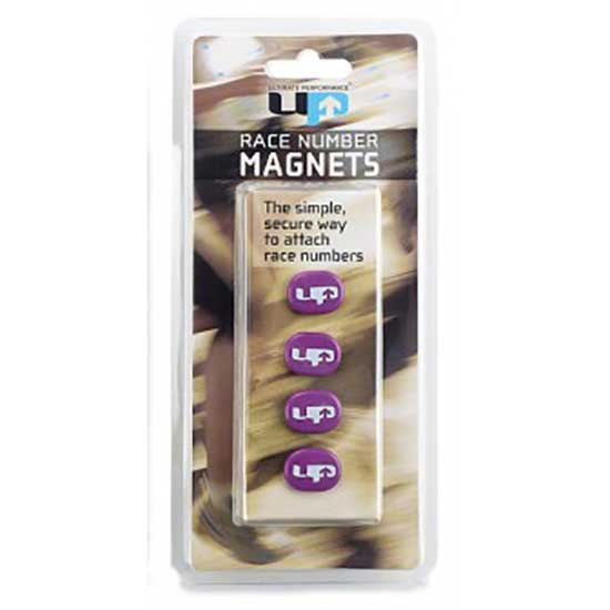 Ultimate Performance Magnetic Race Number Holders One Size Purple