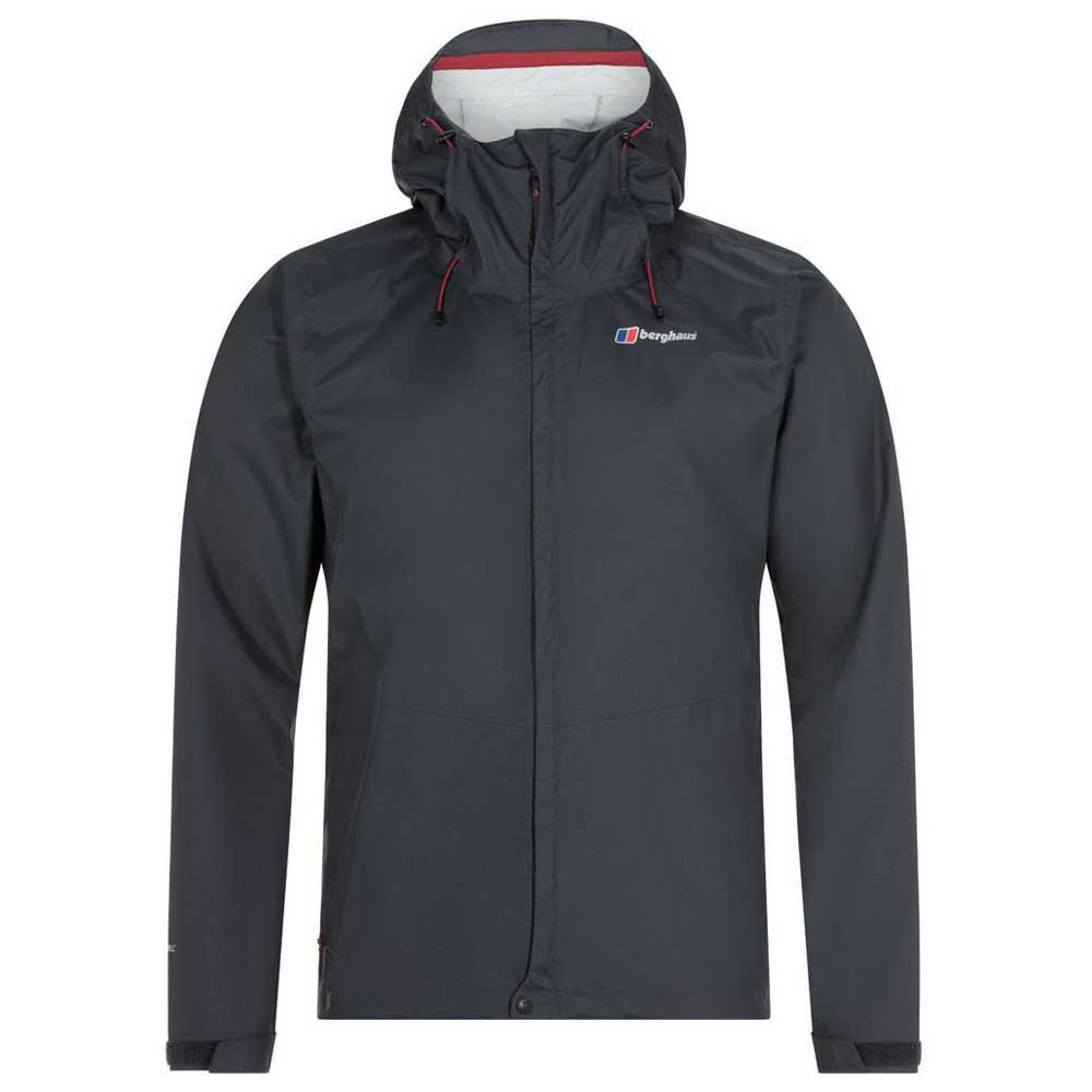 Berghaus Deluge Vented Jacket XL Dark Grey / Dark Grey