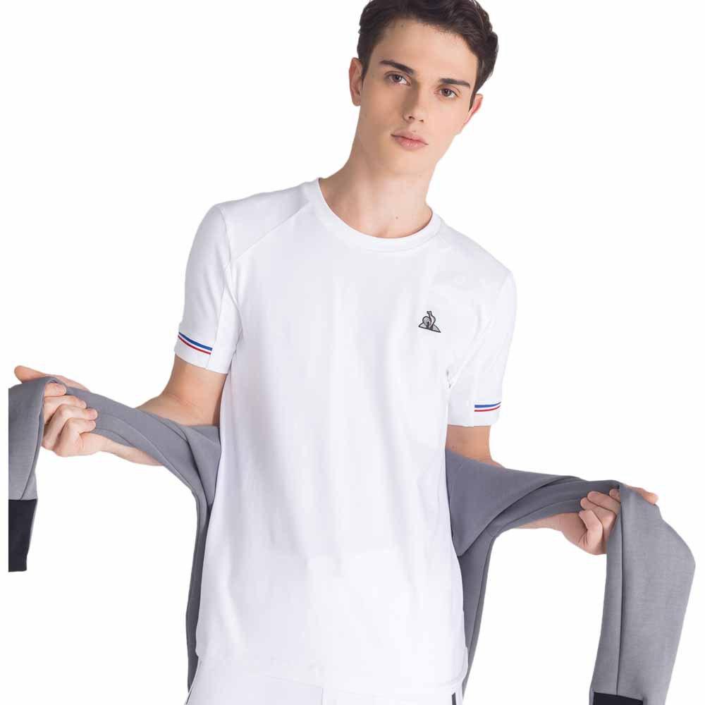 Le Coq Sportif Lcs Tech T Shirt XS New Optical White