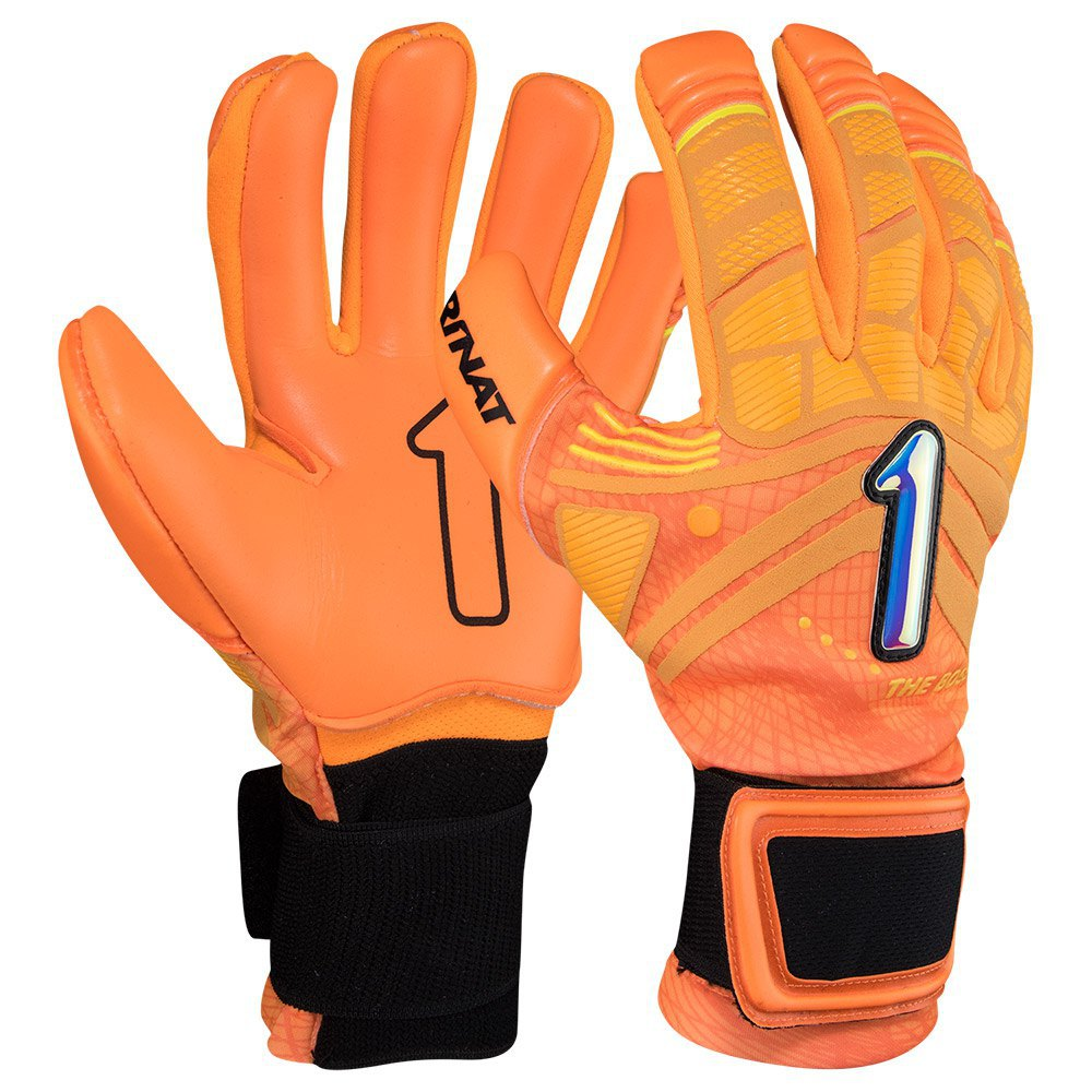 Rinat The Boss Alpha Junior Goalkeeper Gloves 4 Orange / Black