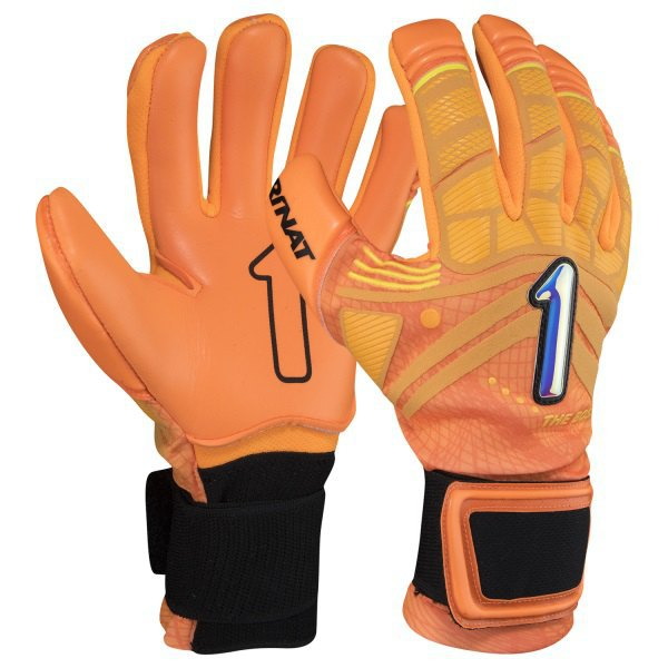 Rinat The Boss Alpha Goalkeeper Gloves 10 Orange / Black