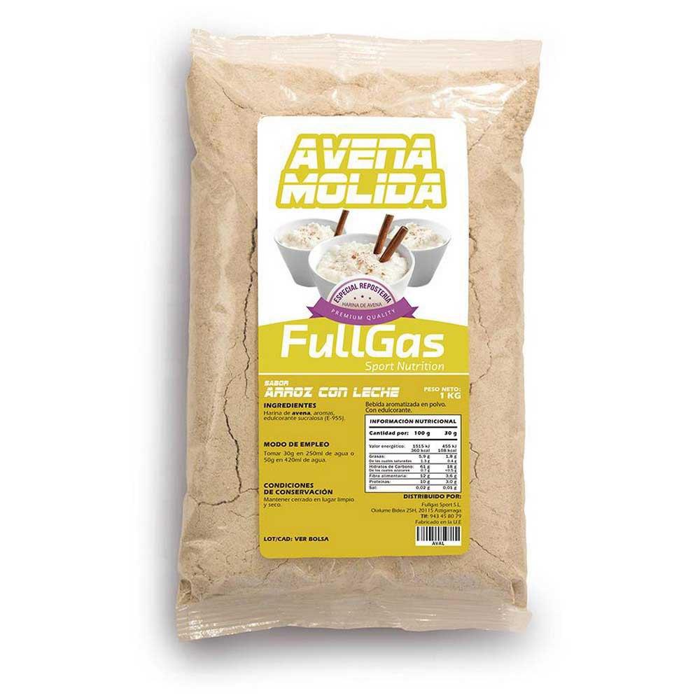 Fullgas Avoine Premium 1kg Riz Au Lait One Size