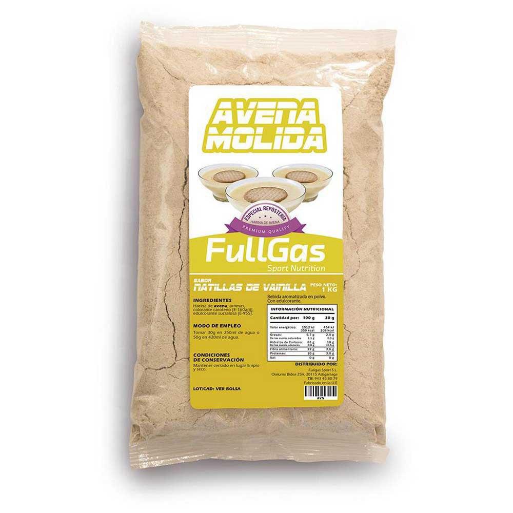 Fullgas Avoine Premium 1kg Crème À La Vanille One Size