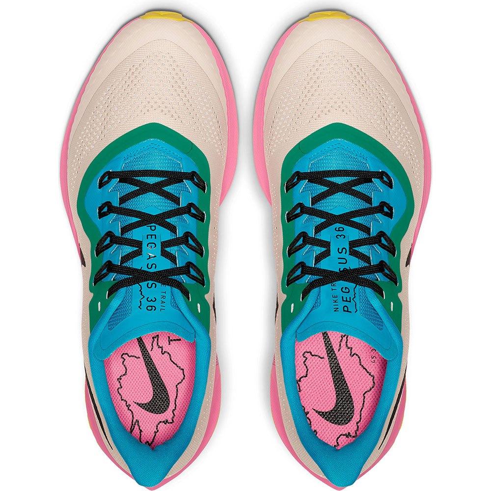 Detalles de Nike Air Zoom Pegasus 36 Trail Multicolor T57965 zapatillas Trail Running Nike