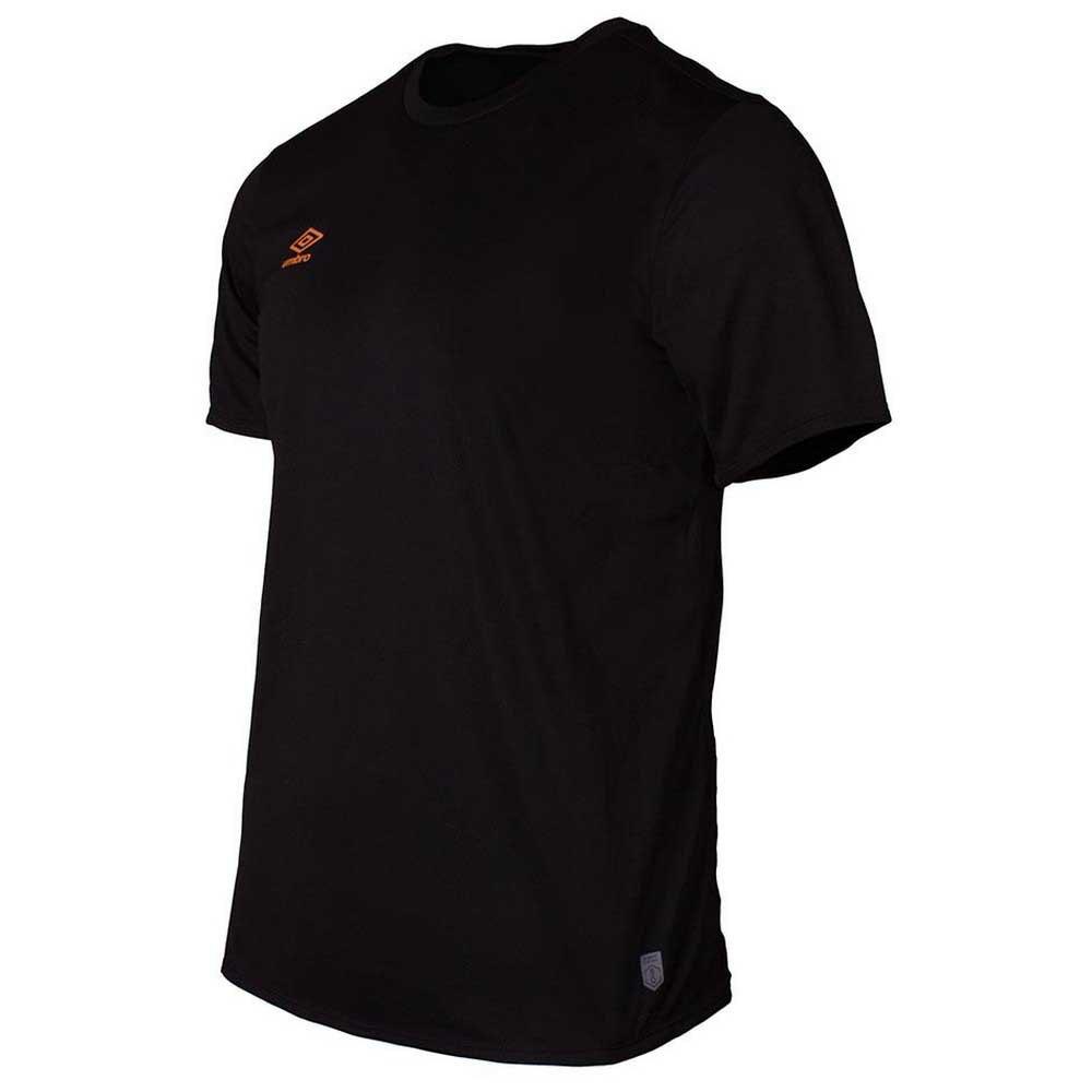 Umbro T-shirt Manche Courte Silo Training S Black / Turmeric