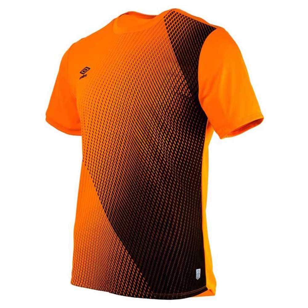 Umbro T-shirt Manche Courte Silo Training Velocita Graphic S Turmeric / Black