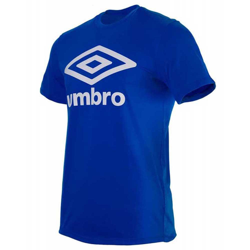 Umbro T-shirt Manche Courte Football Wardrobe Large Logo S Tw Royal