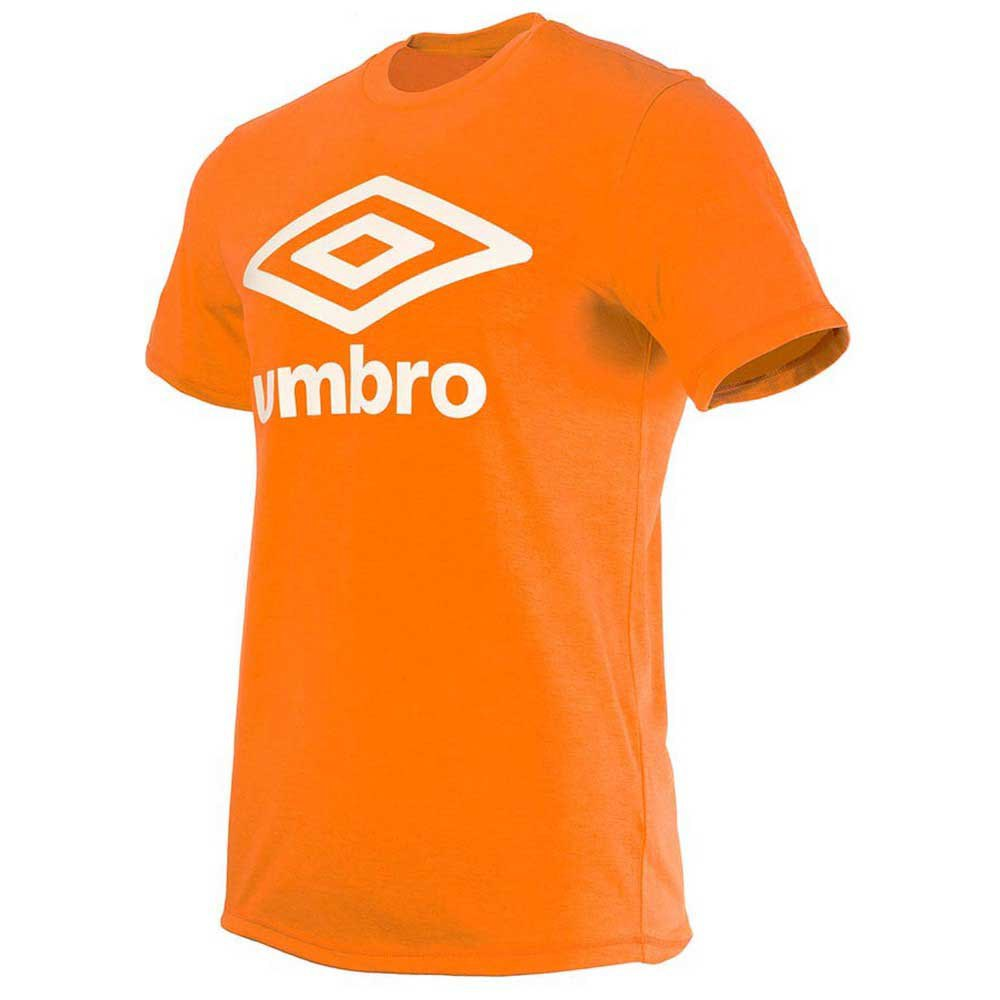 Umbro T-shirt Manche Courte Football Wardrobe Large Logo S Turmeric