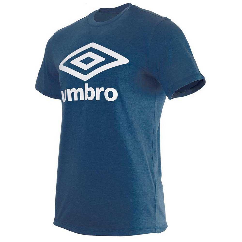 Umbro T-shirt Manche Courte Football Wardrobe Large Logo S Dark Navy