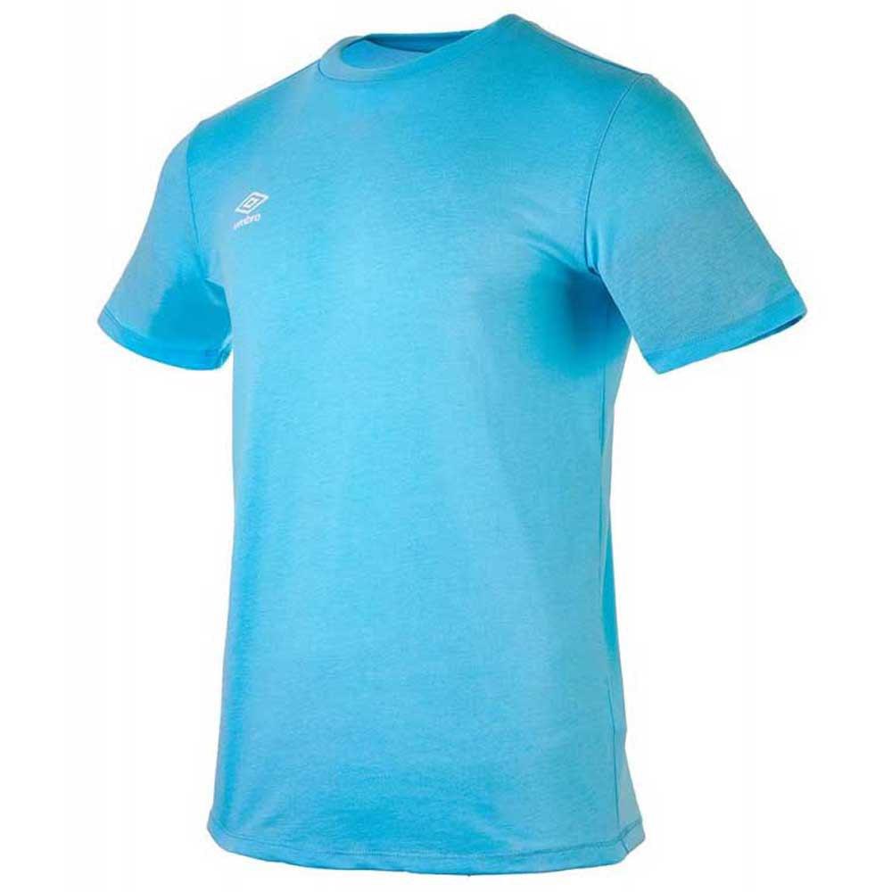 Umbro T-shirt Manche Courte Football Wardrobe Small Logo S Airy Blue Marl