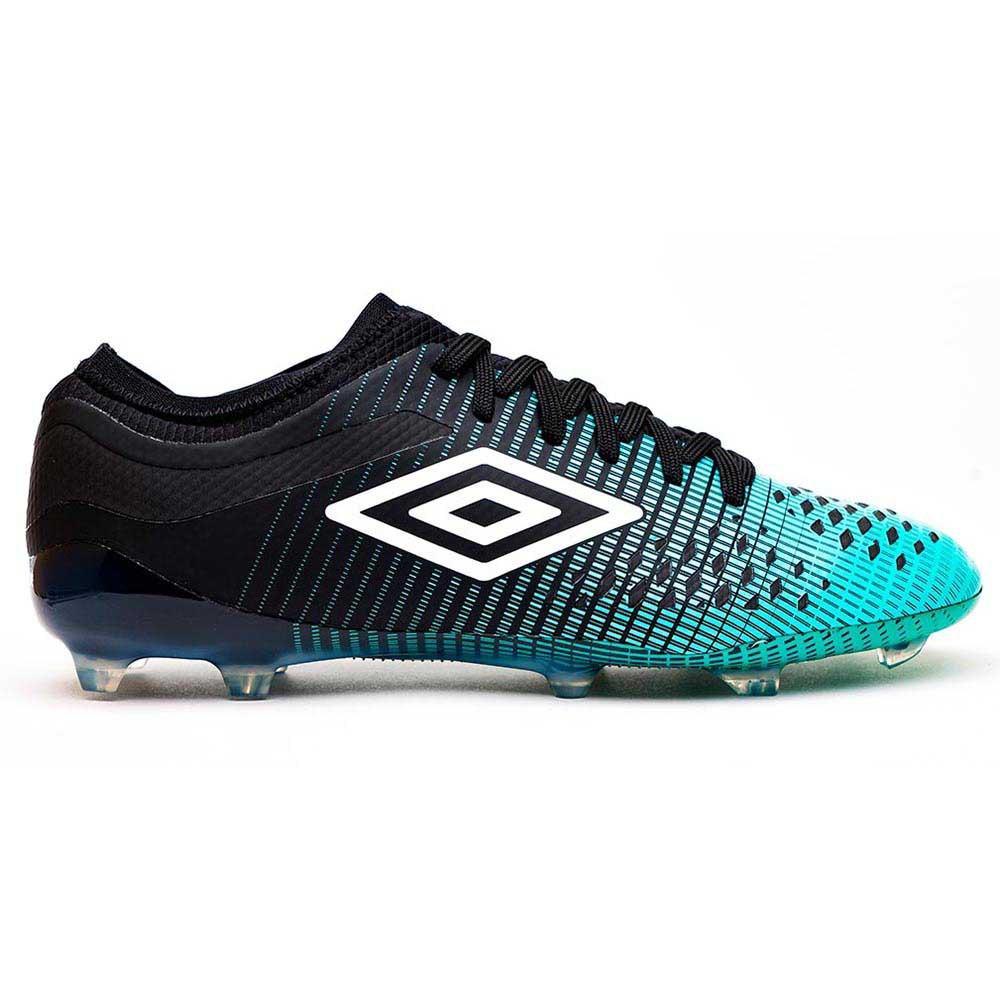 Umbro Chaussures Football Velocita Iv Pro Fg EU 40 Black / White / Marine Green