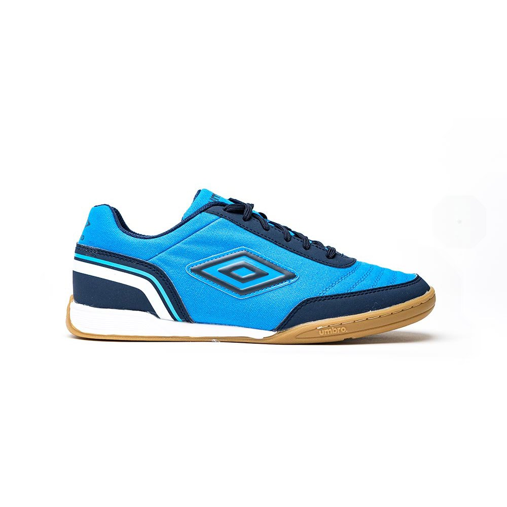 Umbro Chaussures Football Salle Street V EU 39 1/2 Ibiza Blue / Dark Navy / White
