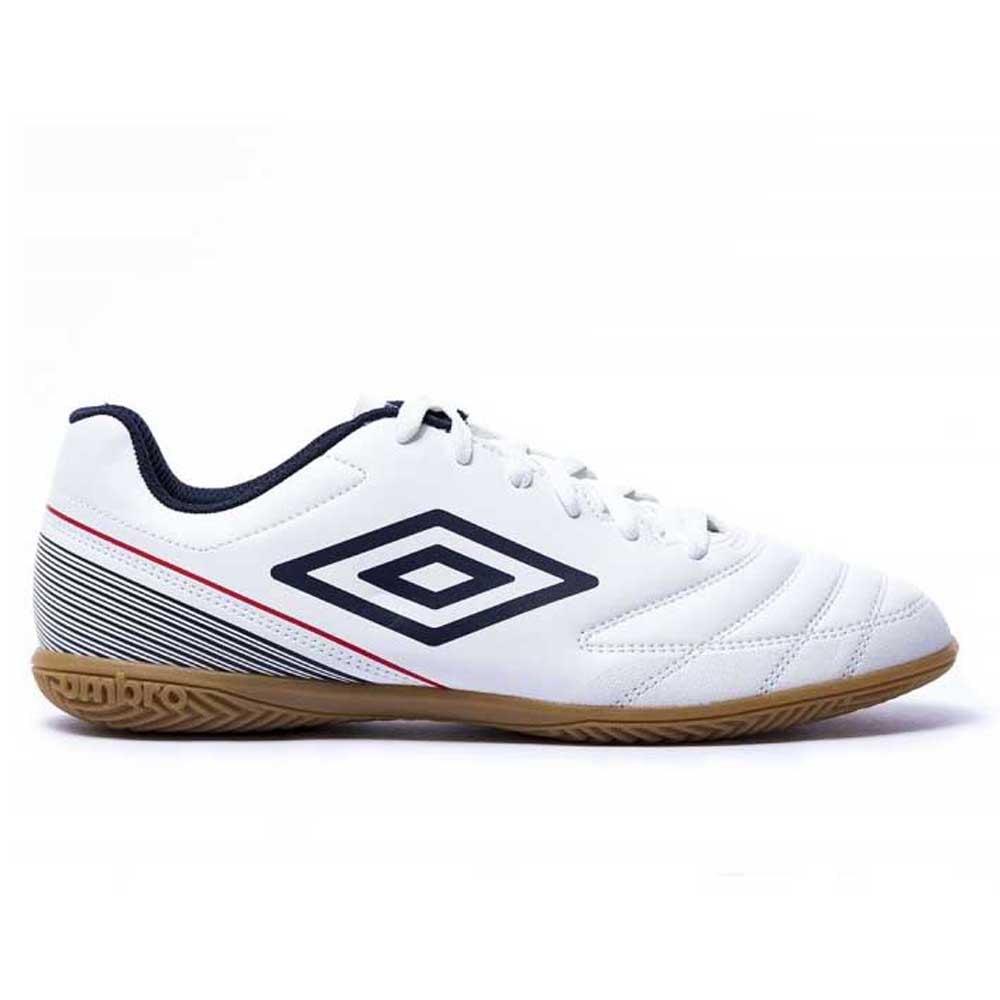 Umbro Chaussures Football Salle Classico Vii Ic EU 40 White / Dark Navy / Vermillion