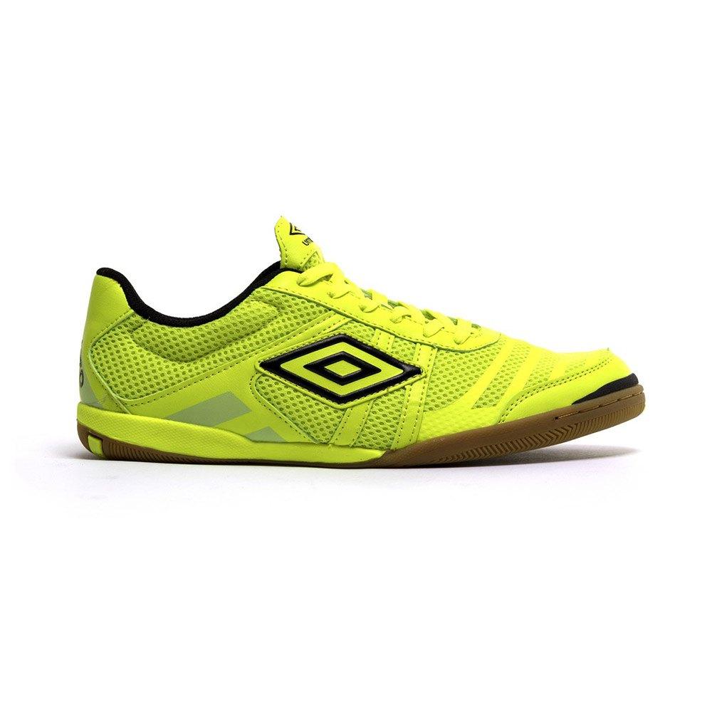 Umbro Chaussures Football Salle Futsal Tunder In EU 40 Fluor Yellow / Black