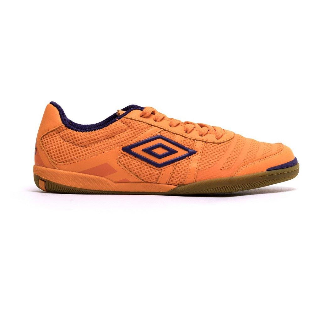 Umbro Chaussures Football Salle Futsal Tunder In EU 40 Fluor Orange / Purple