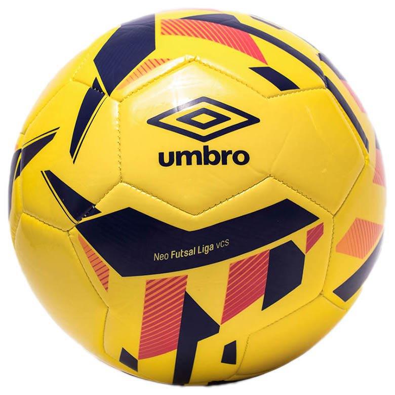 Umbro Ballon Football Salle Neo Liga 4 Yellow / Spectrum Blue / Bright
