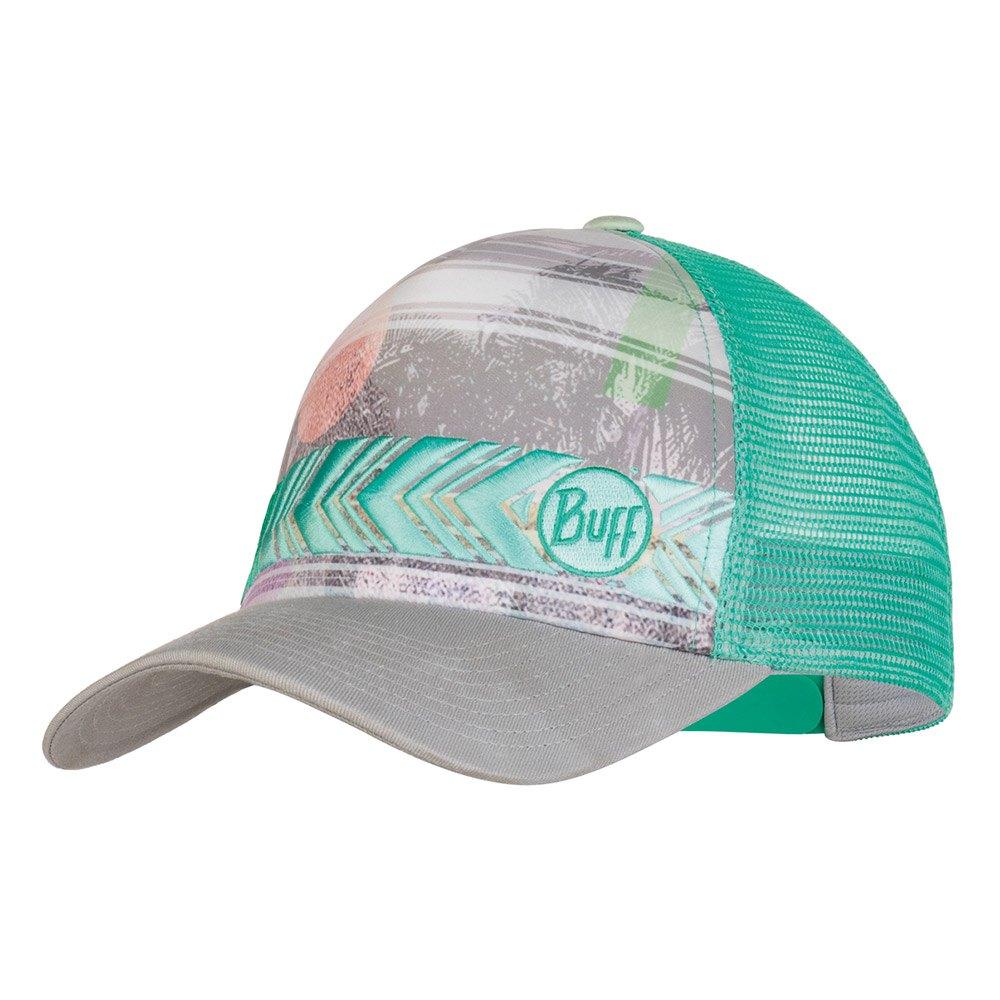 Buff ® Lifestyle Trucker Cap Patterned One Size Biome Aqua