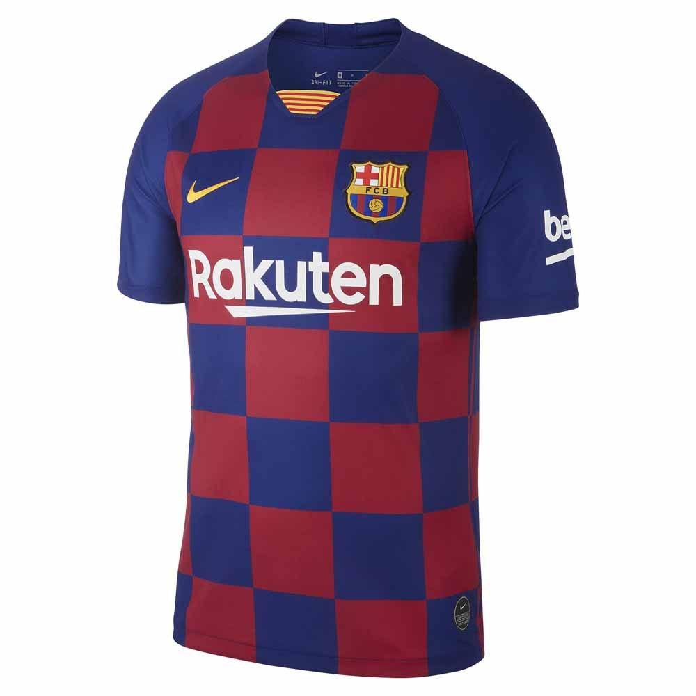 Nike Fc Barcelona Domicile Breathe Stadium 19/20 M Deep Royal Blue / Varsity Maize