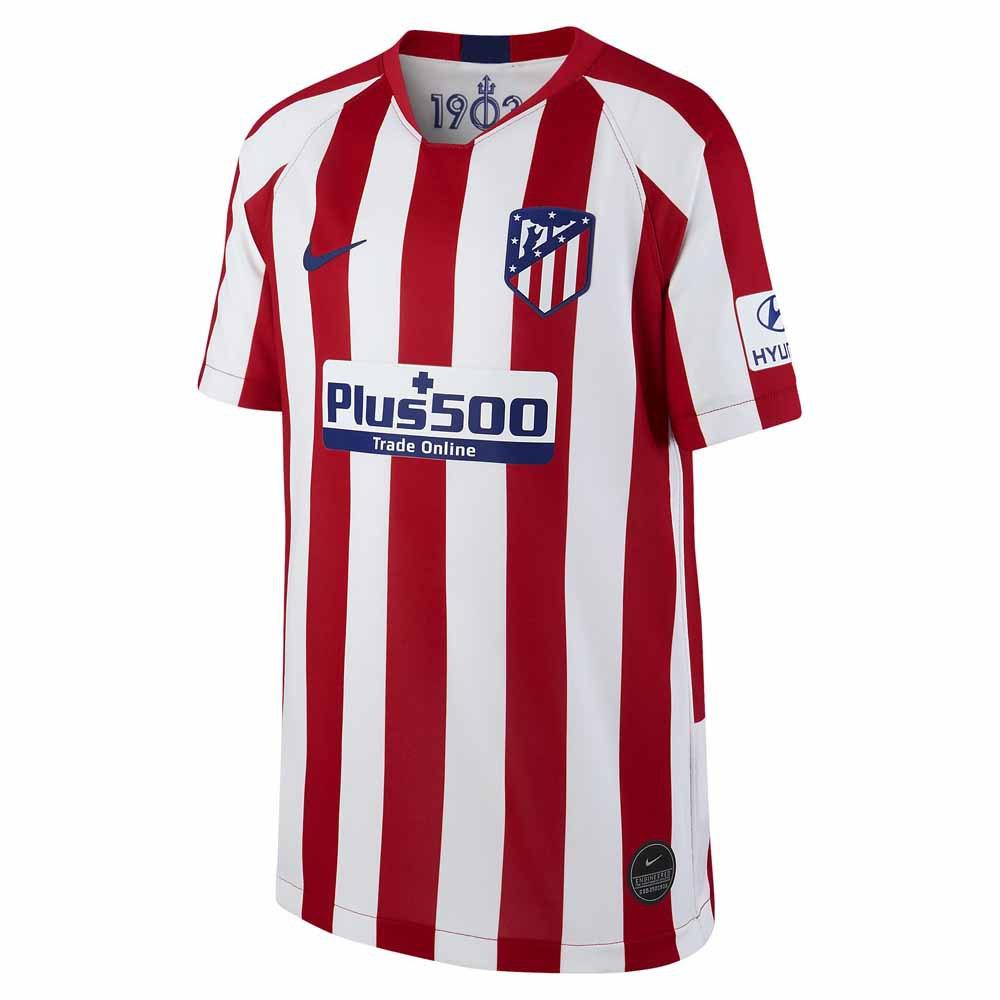 Nike Atletico Madrid Home Breathe Stadium 19/20 Junior M Sport Red / White / Deep Royal Blue