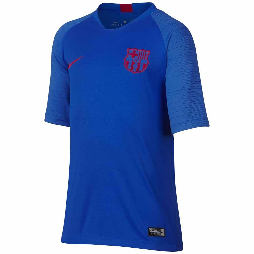 Nike Fc Barcelona Breathe Strike 19/20 Junior S Lyon Blue / Lyon Blue / Noble Red