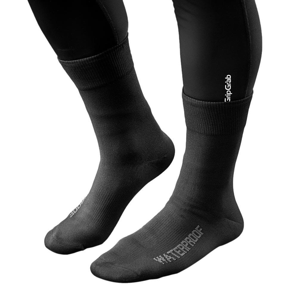 Gripgrab-Lightweight-Waterproof-Noir-T87446-Chaussettes-Homme-Noir-GripGrab miniature 7
