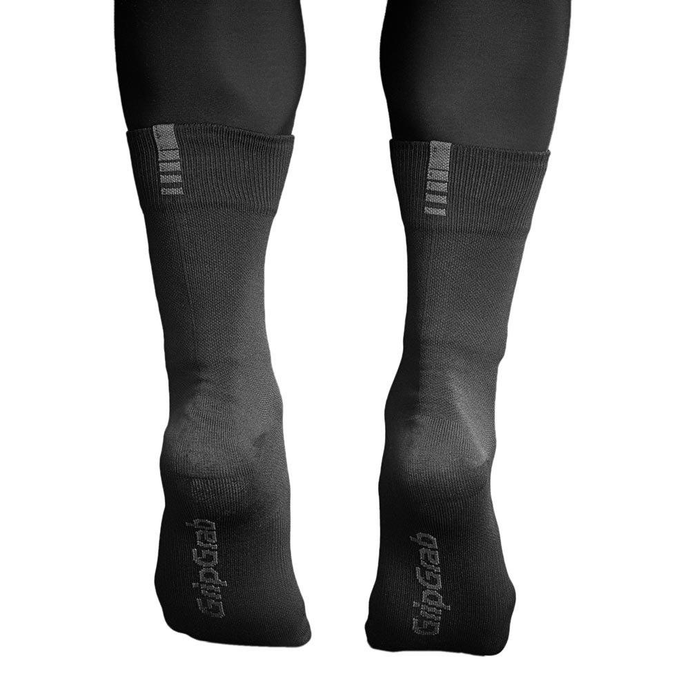 Gripgrab-Lightweight-Waterproof-Noir-T87446-Chaussettes-Homme-Noir-GripGrab miniature 8