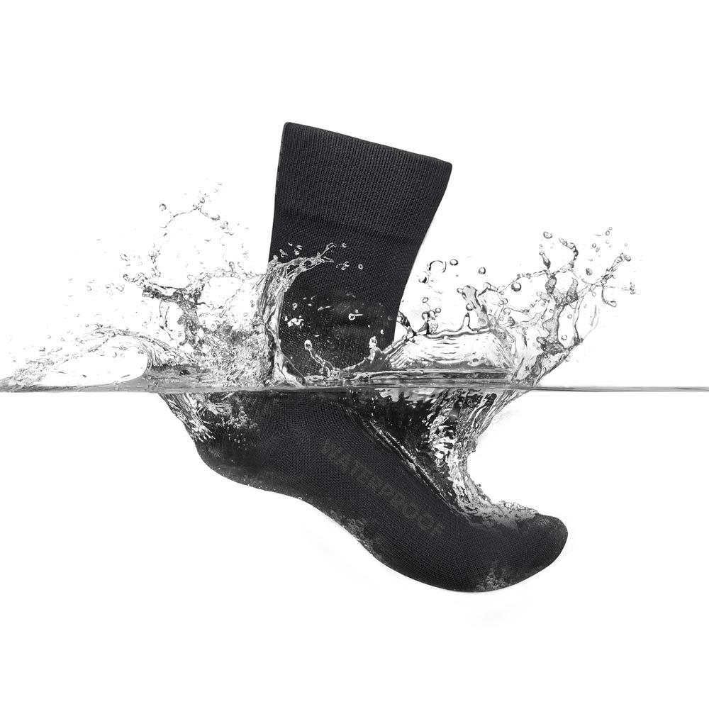 Gripgrab-Lightweight-Waterproof-Noir-T87446-Chaussettes-Homme-Noir-GripGrab miniature 10