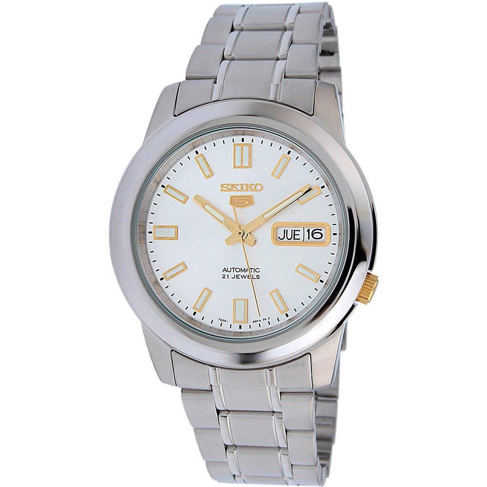 Seiko Watches Relógio 5 Gent Snkk09k1 One Size Silver - Relógios Relógio 5 Gent Snkk09k1