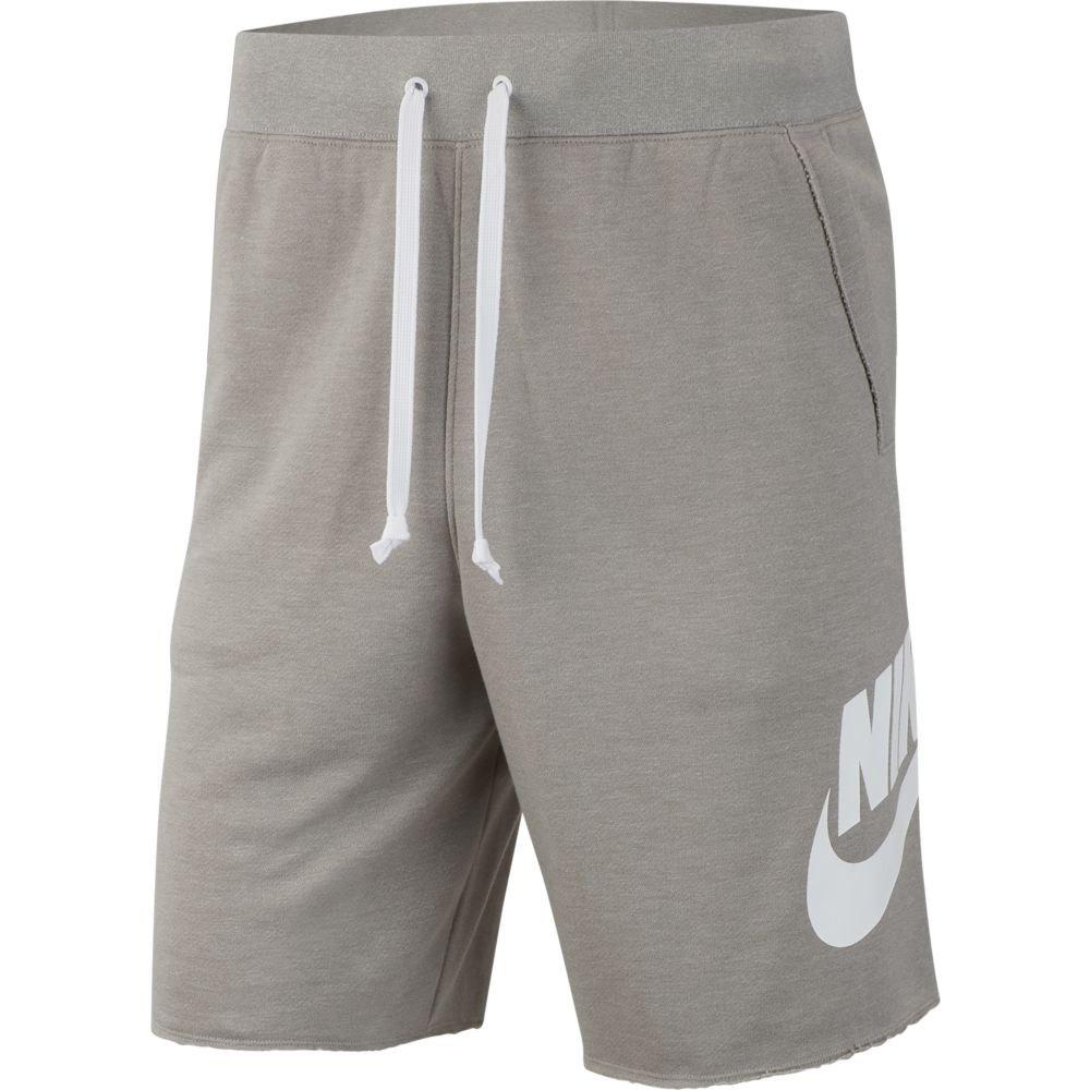 Nike Sportswear Alumni S Dark Grey Heather / Dark Grey Heather / White