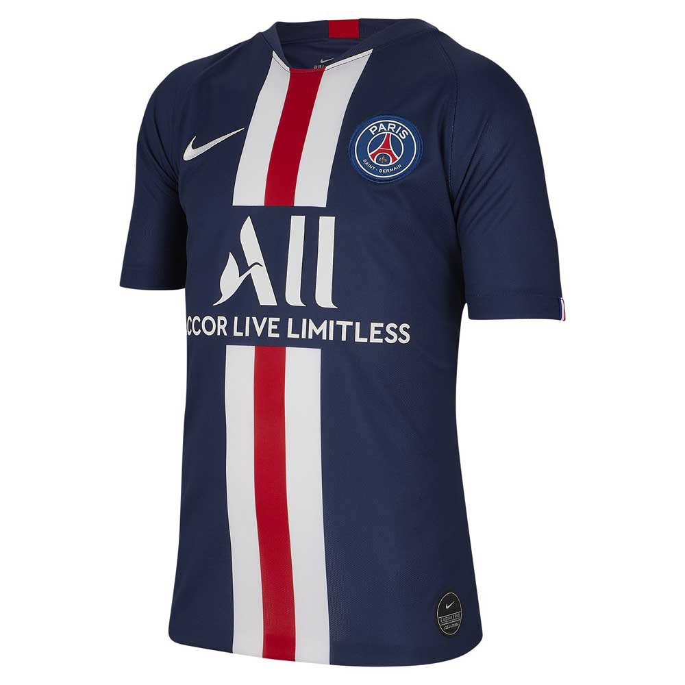Nike Paris Saint Germain Home Breathe Stadium 19/20 Junior S Midnight Navy / White