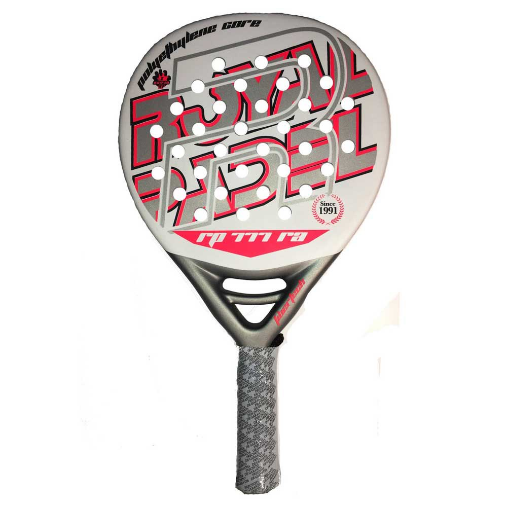 Royal Padel 777ra One Size White / Red / Silver