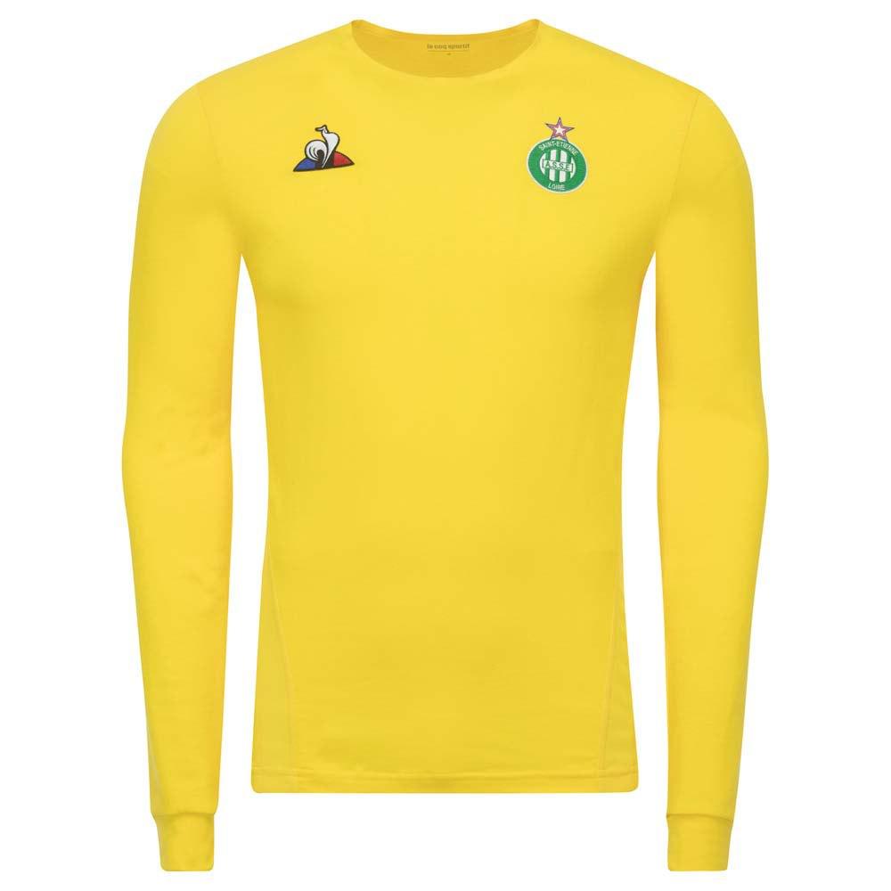 Le Coq Sportif As Saint Etienne Pro Goalkeeper 18/19 M Original Jaune