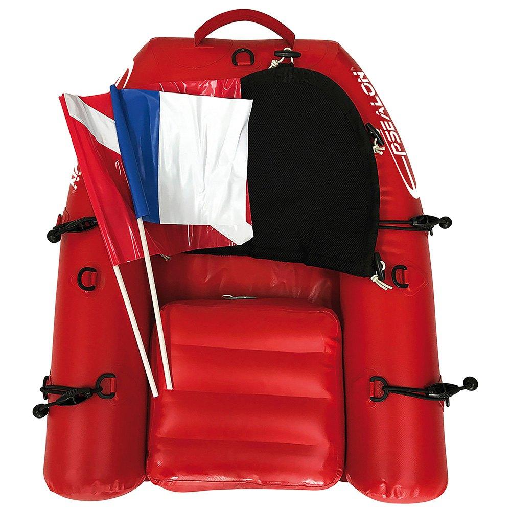 Epsealon Mini Patrol Raft Board Orange Tauchbojen Mini Patrol Raft Board
