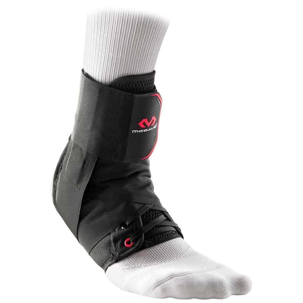 Mc David Ankle Brace With Straps L Black