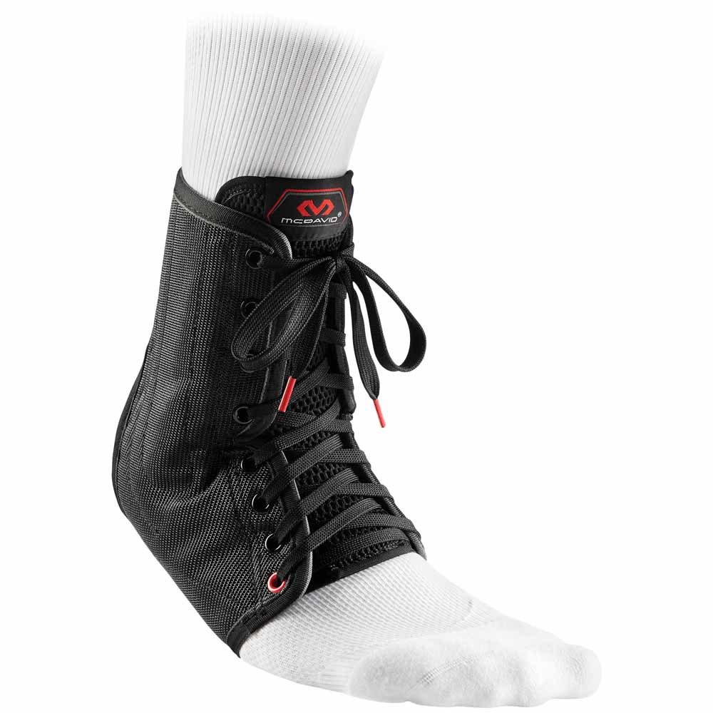 Mc David Ankle Brace/lace-up With Stays L Black