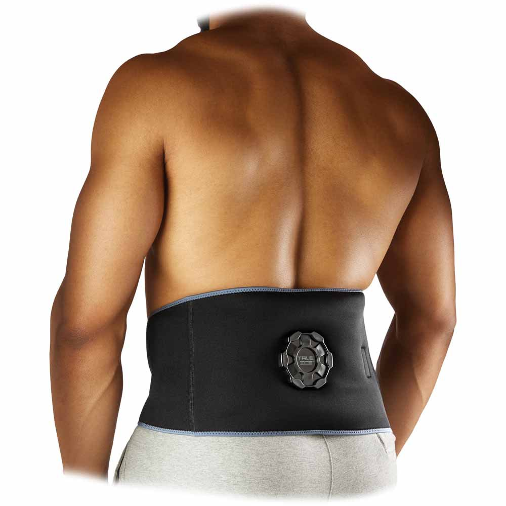 Mc David True Ice Therapy Back/ribs Wrap One Size Black