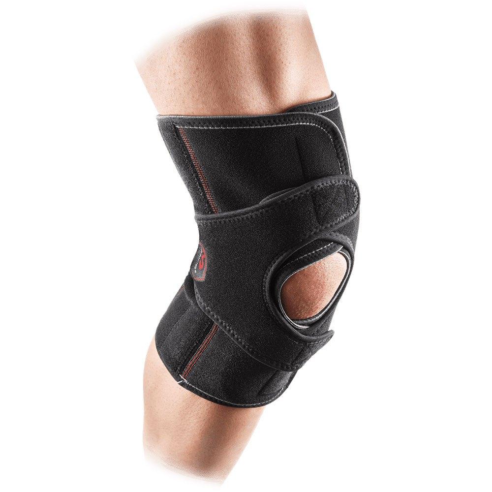 Mc David Vow Knee Wrap With Stays L Black