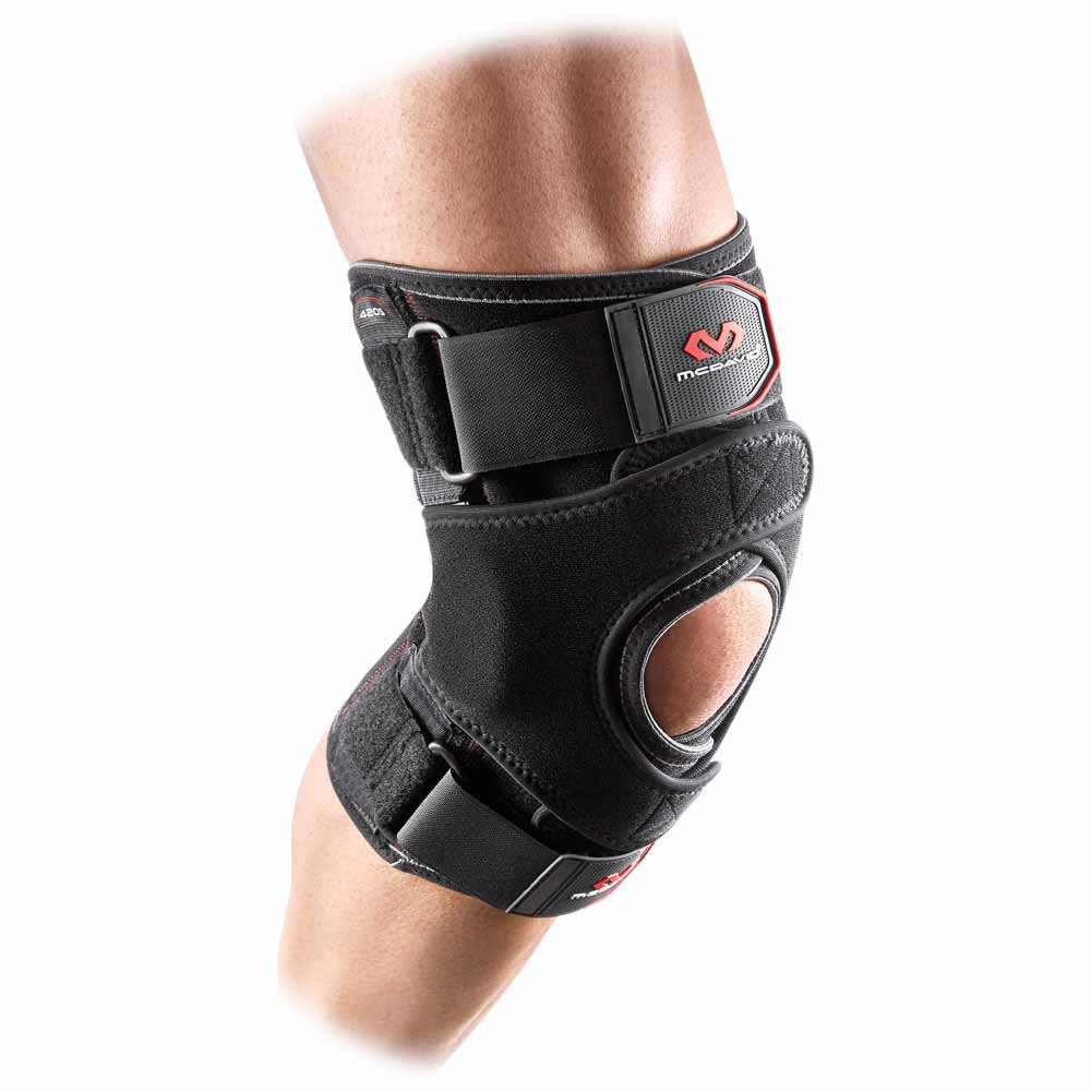 Mc David Vow Knee Wrap With Hinges And Straps L Black