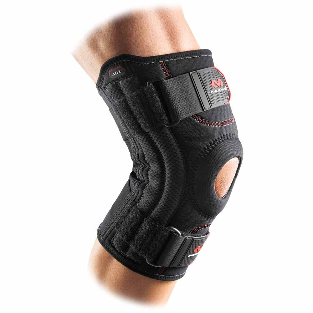 Mc David Knee Support With Stays S Black