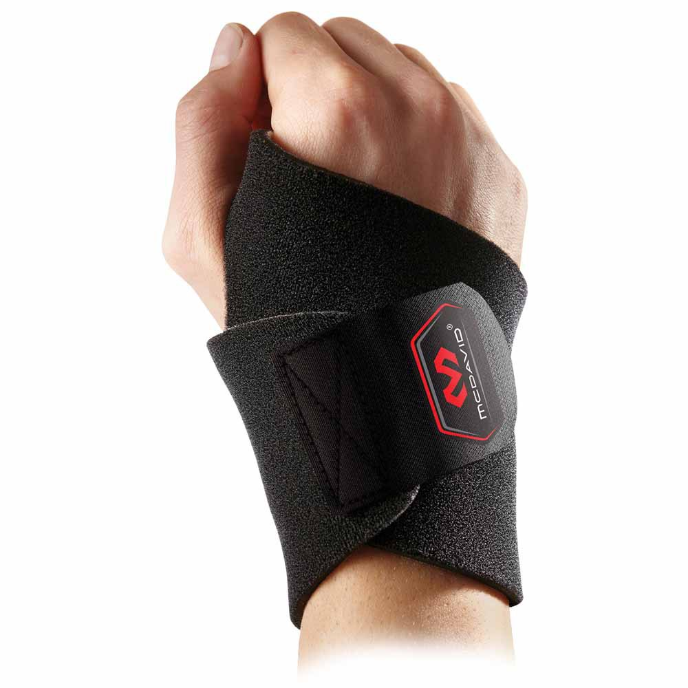 Mc David Wrist Wrap/adjustable One Size Black