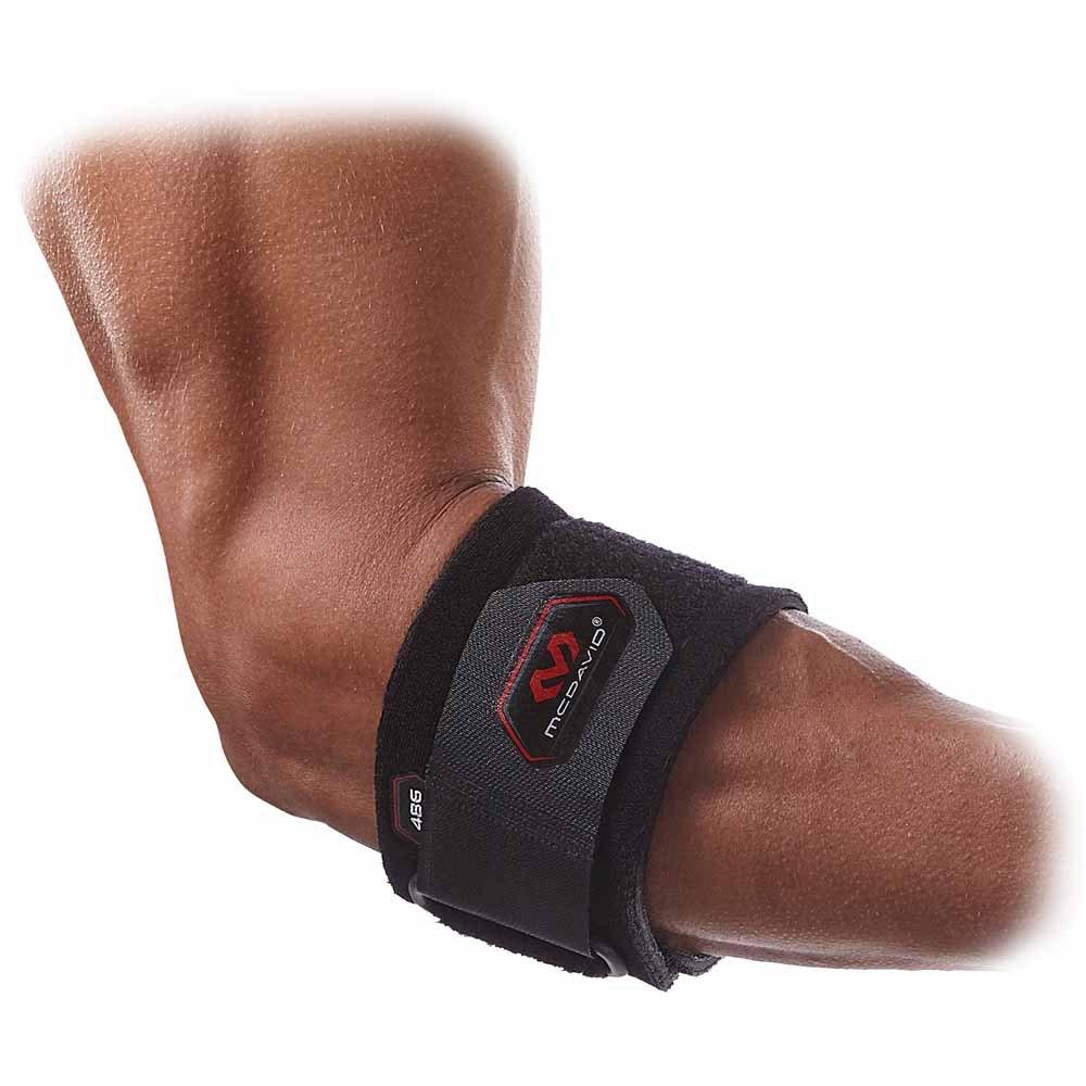 Mc David Tennis Elbow Strap Adjustable One Size Black