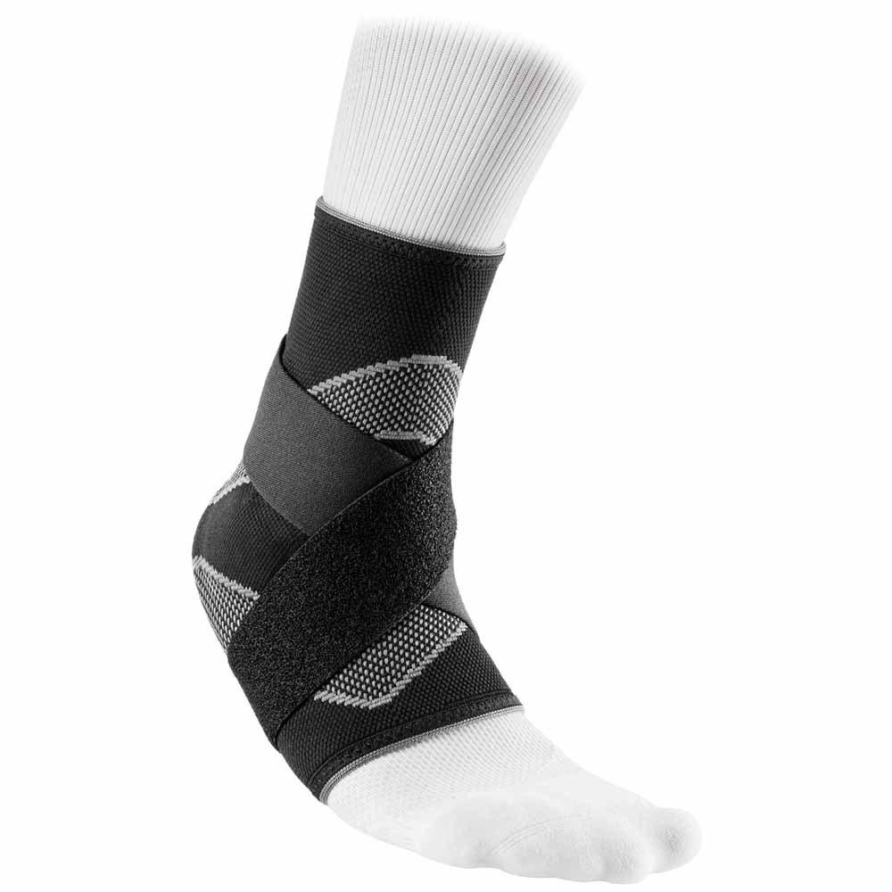 Mc David Ankle Sleeve/4-way Elastic With Figure-8 Straps L Black
