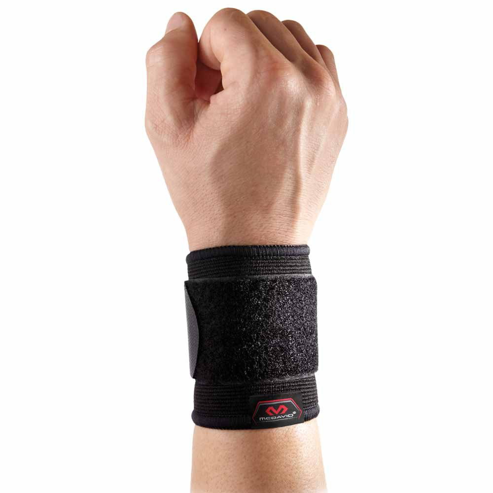 Mc David Wrist Sleeve/adjustable/elastic L-XL Black